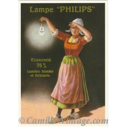 Postcard Lampe Philips