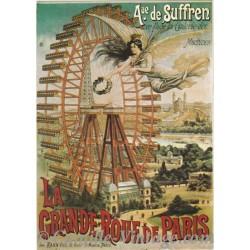 Postcard Grande Roue de Paris