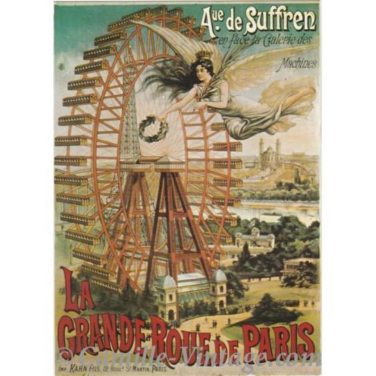 Carte Postale Grande Roue de Paris