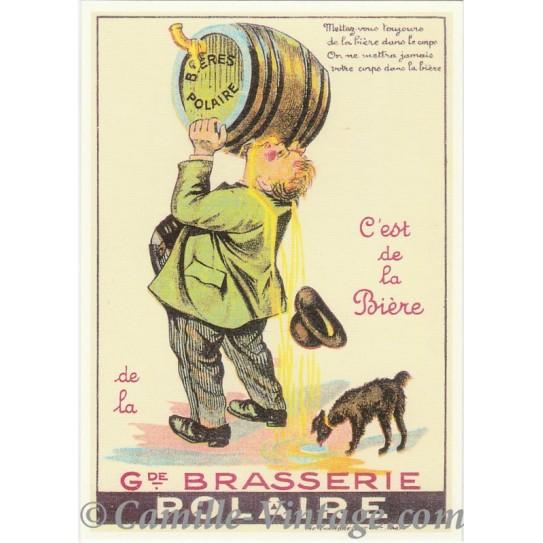Postcard Bière Polaire