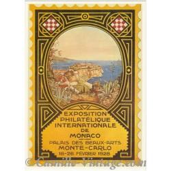Postcard Exposition Philatélique Internationale