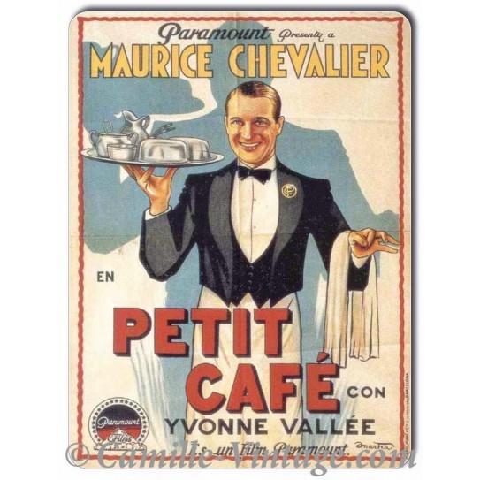 Plaque Aluminium Maurice Chevalier
