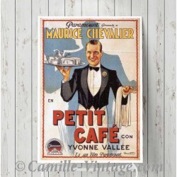 Poster Vintage Maurice Chevalier