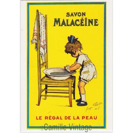 Postcard Savon Malacéïne