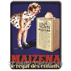 Plaque métal Maïzena Gâteau