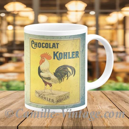Mug Poster Pub Chococlat Kohler