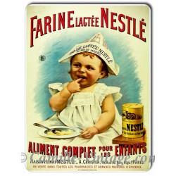 Plaque métal Farine Lactée Nestlé