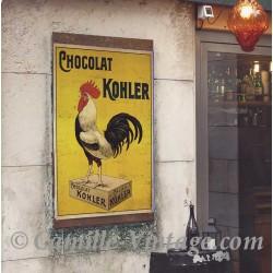 Affiche Publicitaire Chocolat Kohler