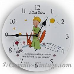Horloge Murale Le Petit Prince de Saint-Exupéry