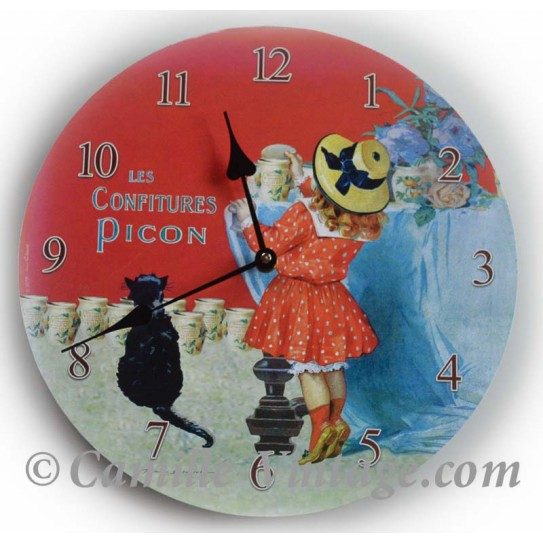Wall clock Jam Picon