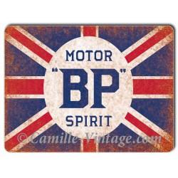 Aluminium plate BP Motor Spirit