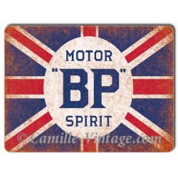 Plaque Aluminium BP Motor Spirit