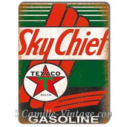 Aluminium plate Texaco Sky Chief