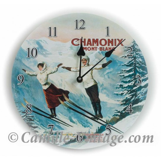 Wall clock Chamonix