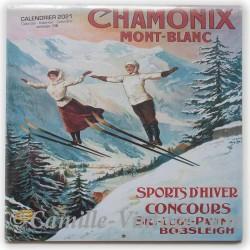 Calendar Chamonix 2021