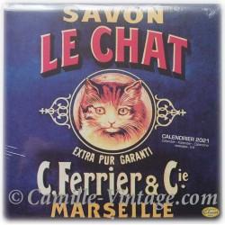 Calendrier Savon Le Chat 2021