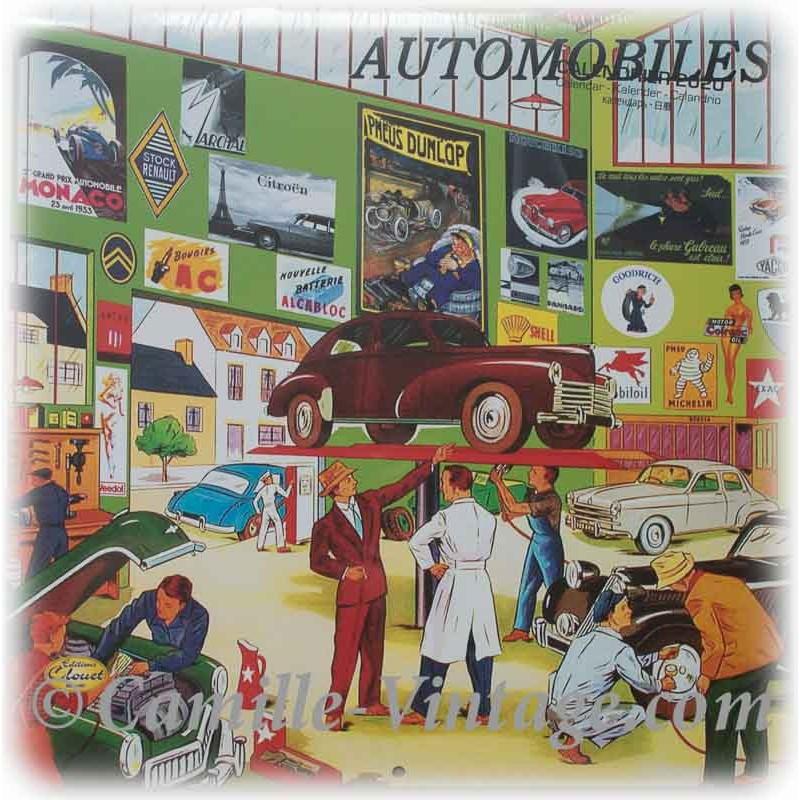 Calendrier 2020 2021 Ancienne Affiche Auto Rallye Monaco Vintage Retro