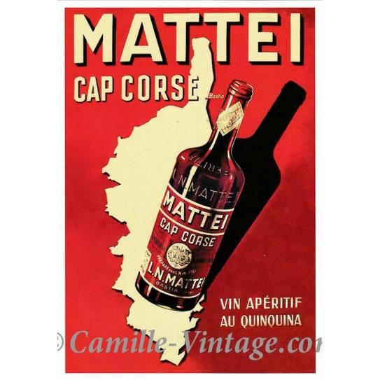 Carte Postale Mattei Cap Corse
