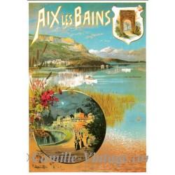 Postcard Aix-Les-Bains