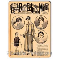 Plaque métal revue de mode vintage 6 mai 1923