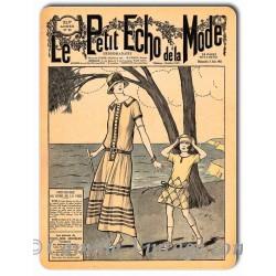 Metal plate deco Mode 3 June 1923