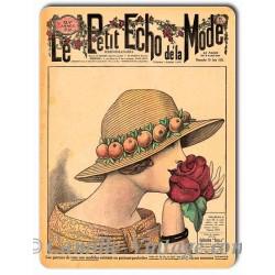 Metal plate deco Mode 10 June 1923