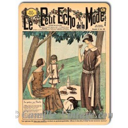 Metal plate deco Mode 24 June 1923