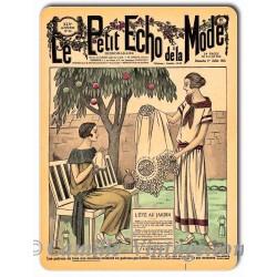 Metal plate deco Mode 1 July 1923