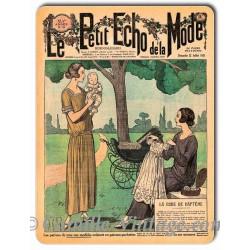 Metal plate deco Mode 22 July 1923