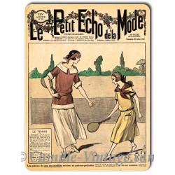 Metal plate deco Mode 29 July 1923