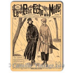 Metal plate deco Mode 23 September 1923