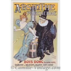 Carte Postale Absinthe Parisienne