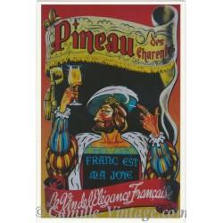 Postcard Pineau des Charentes