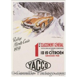 Postcard Citroën ID 19