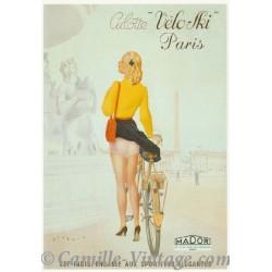 Carte Postale Culotte Véloski Paris