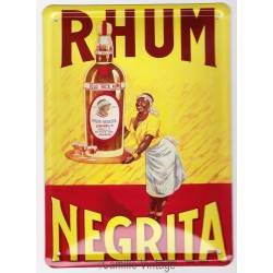 Tin signs Rhum Négrita