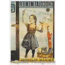 Postcard Chocolat Menier Vitrine