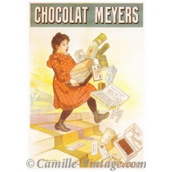 Postcard Chocolat Meyers