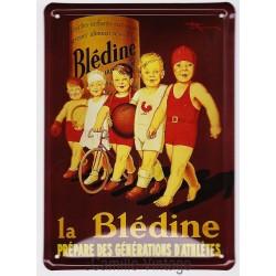 Plaque métal Blédine