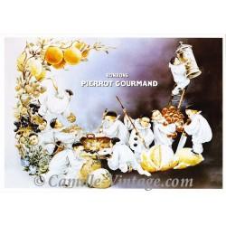 Postcard Bonbons Pierrot Gourmand