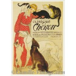 Postcard Clinique Chéron