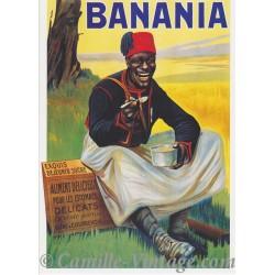 Postcard Banania Tirailleur