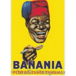 Postcard Banania Tête