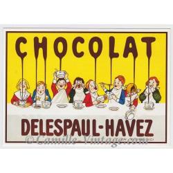 Postcard Chocolat Delespaul-Havez