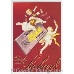 Postcard Chocolat Suchard Milka