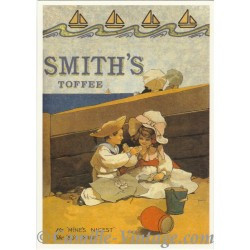 Postcard Smith's Toffee