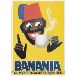 Postcard Banania Morvan