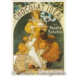 Carte Postale Chocolat Idéal