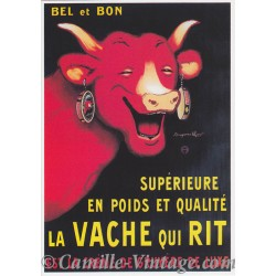 Postcard Vache Qui Rit - Benjamin Rabier