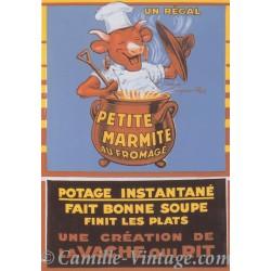 Postcard Vache Qui Rit - Petite Marmite